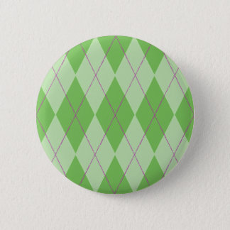 Badge Rond 5 Cm Jacquard vert