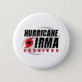 Badge Rond 5 Cm J'ai survécu à Irma