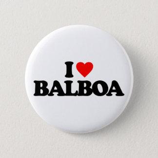 BADGE ROND 5 CM J'AIME BALBOA