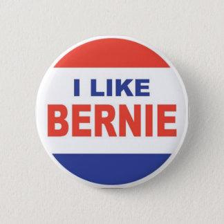 Badge Rond 5 Cm J'aime Bernie
