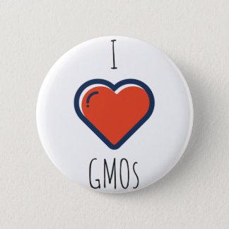 Badge Rond 5 Cm J'aime des OGM