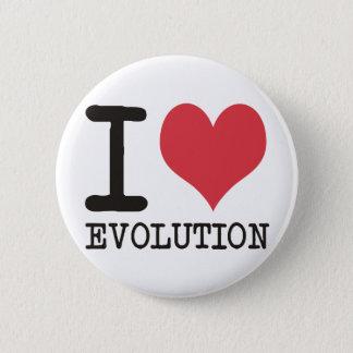 Badge Rond 5 Cm J'AIME des produits et des conceptions d'évolution