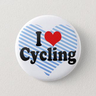 Badge Rond 5 Cm J'aime faire un cycle