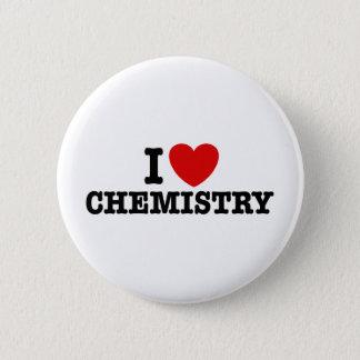 Badge Rond 5 Cm J'aime la chimie