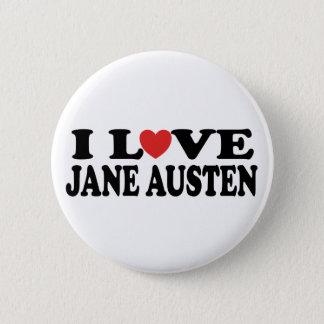 Badge Rond 5 Cm J'aime le classique de Jane Austen