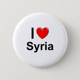 Badge Rond 5 Cm J'aime le coeur Syrie