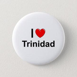 Badge Rond 5 Cm J'aime le coeur Trinidad