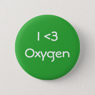 Badge Rond 5 Cm J'aime l'oxygène