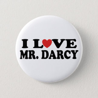 Badge Rond 5 Cm J'aime M. Darcy