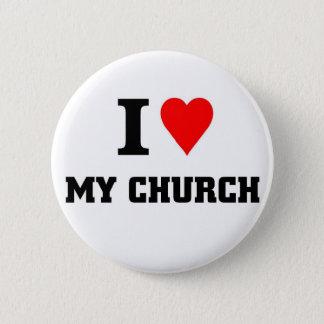 Badge Rond 5 Cm J'aime mon église