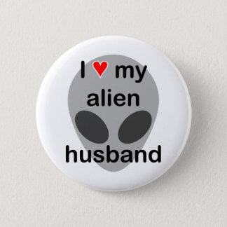 Badge Rond 5 Cm J'aime mon mari étranger