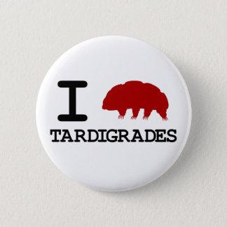 Badge Rond 5 Cm J'aime Tardigrades