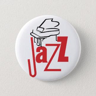 Badge Rond 5 Cm Jazz de piano