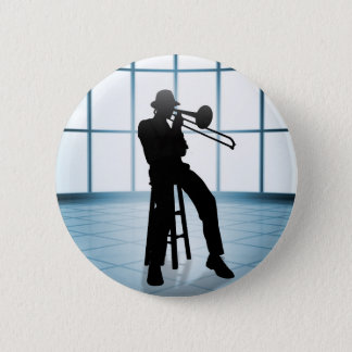 Badge Rond 5 Cm Jazz frais 1