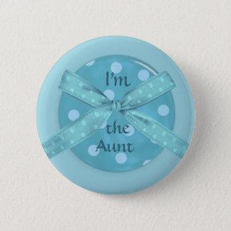 Badge Rond 5 Cm Je suis la tante