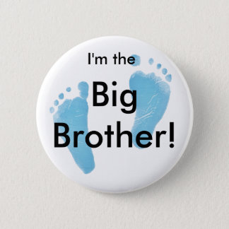 Badge Rond 5 Cm Je suis le frère