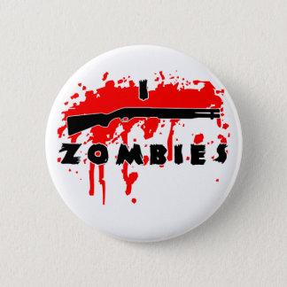 Badge Rond 5 Cm Je tire des zombis