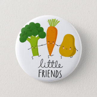 Badge Rond 5 Cm jeunes légumes