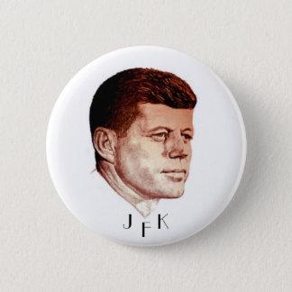 BADGE ROND 5 CM JFK