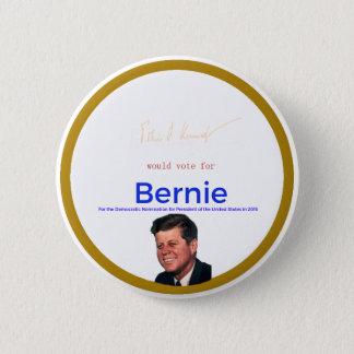 Badge Rond 5 Cm JFK pour des ponceuses de Bernie