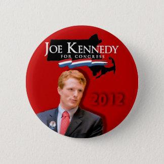 Badge Rond 5 Cm Joe Kennedy pour le rouge du congrès