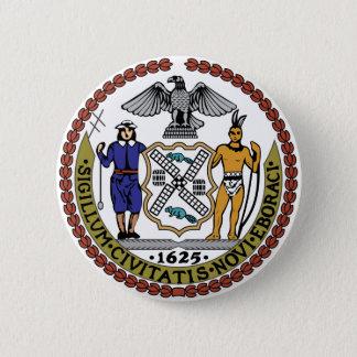 Badge Rond 5 Cm Joint de New York