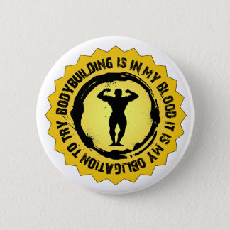 Badge Rond 5 Cm Joint fantastique de culturisme