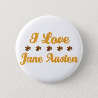 Badge Rond 5 Cm Joli amant de Jane Austen