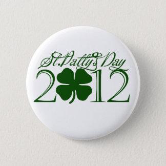 Badge Rond 5 Cm Jour de la St Patrick