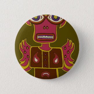 Badge Rond 5 Cm Jungle Ifrit