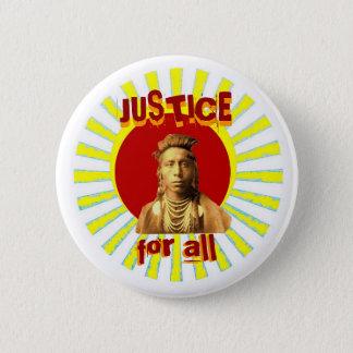 Badge Rond 5 Cm Justice pour tous