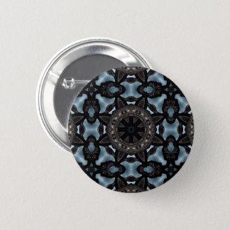 Badge Rond 5 Cm Kaléidoscope médiéval de conception