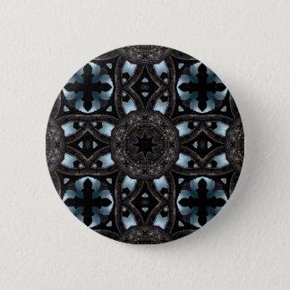 Badge Rond 5 Cm Kaléidoscope médiéval gothique