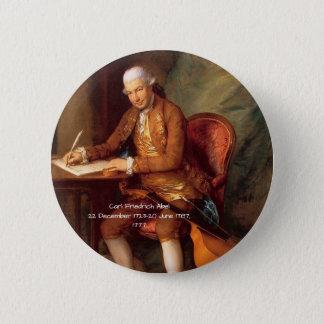 Badge Rond 5 Cm Karl Friedrich Abel
