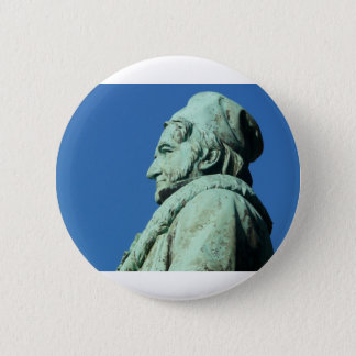 Badge Rond 5 Cm Karl Friedrich Gauß (gauss), Brunswick