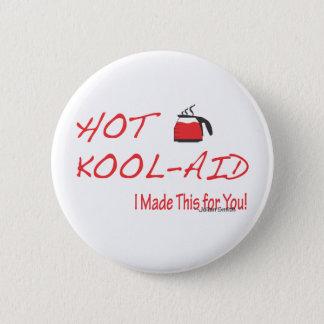 Badge Rond 5 Cm Kool-Aide chaude Julian Smith