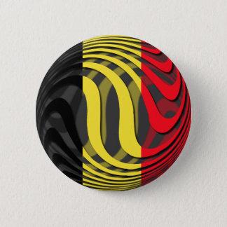 Badge Rond 5 Cm La Belgique #1