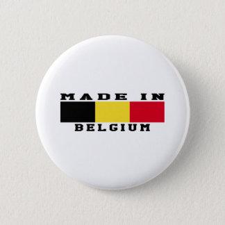 Badge Rond 5 Cm La Belgique a fait dans les conceptions