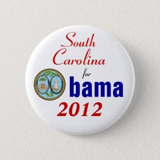 Badge Rond 5 Cm La Caroline du Sud pour Obama 2012