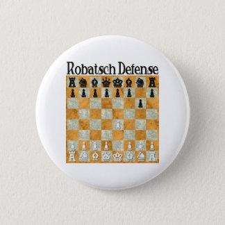 Badge Rond 5 Cm La défense de Robatsch
