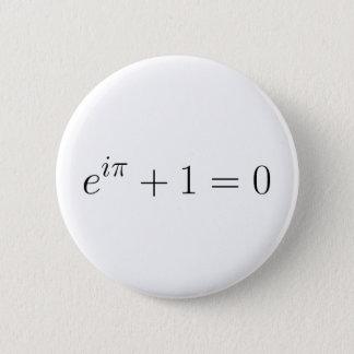 Badge Rond 5 Cm La formule d'Euler
