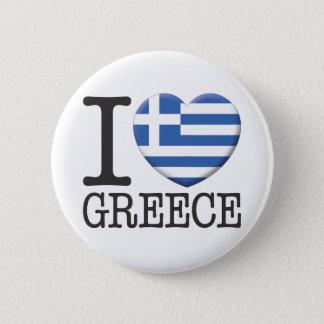Badge Rond 5 Cm La Grèce
