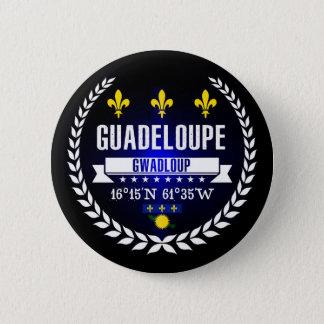 Badge Rond 5 Cm La Guadeloupe