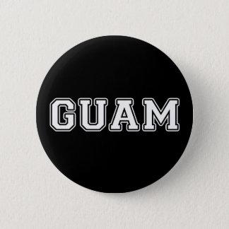 Badge Rond 5 Cm La Guam
