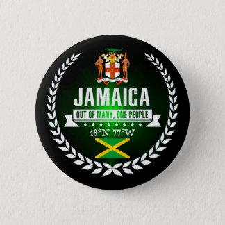 Badge Rond 5 Cm La Jamaïque