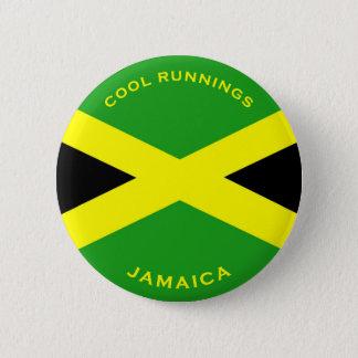 Badge Rond 5 Cm La Jamaïque - boutons frais de fonctionnements