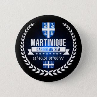 Badge Rond 5 Cm La Martinique