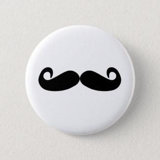 Badge Rond 5 Cm la moustache créent vite