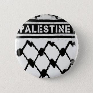 Badge Rond 5 Cm La Palestine Keffiyah