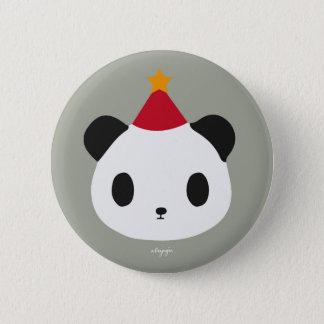 Badge Rond 5 Cm La partie du panda